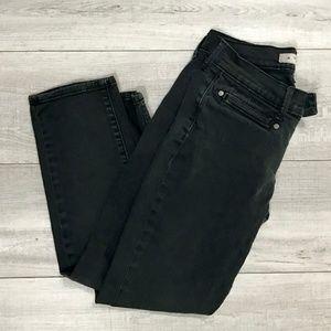 🔴 Old Navy | Black Cropped Skinny Jeans | Size 1